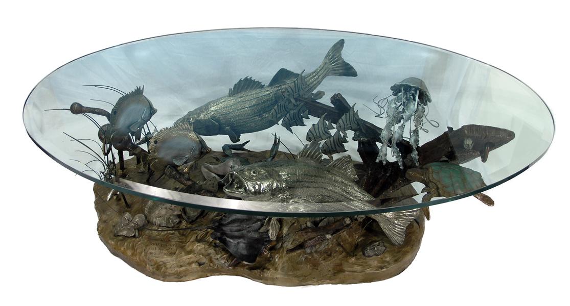 Turner Sculpture Wildlife Tables